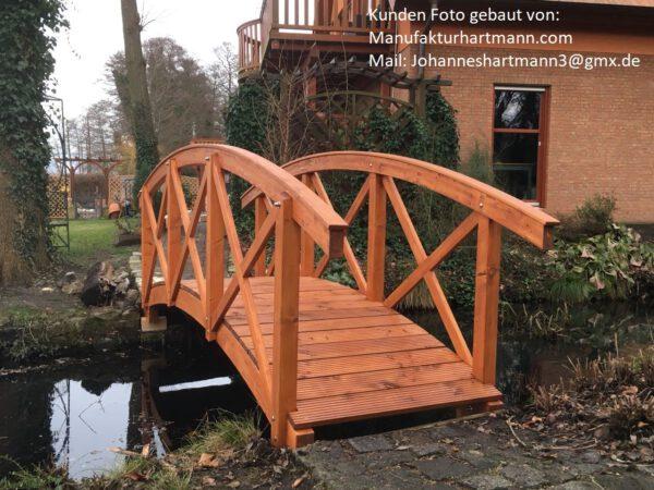 Kundenprojekt Teichbrücke 2 bei Leimholzbogen.de