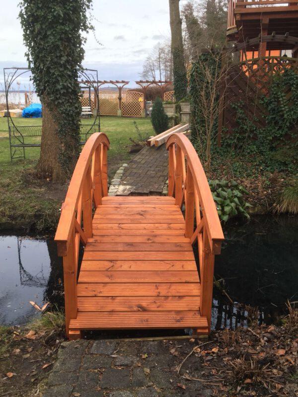 Kundenprojekt Teichbrücke bei Leimholzbogen.de